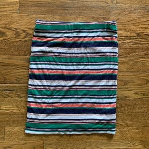 Joie striped pencil skirt-XS